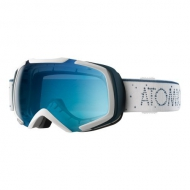 Очки Atomic REVEL S ML White  Light Blue