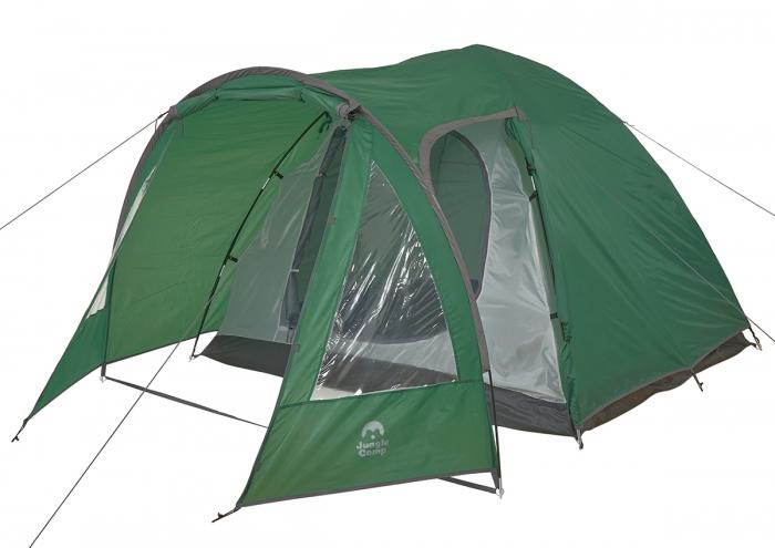4 местные палатки